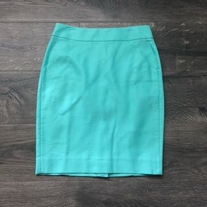JCrew Factory pencil skirt 0